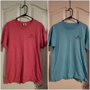 LOT OF 2 SIMPLY SOUTHERN SHORT SLEEVE T-SHIRTS MED